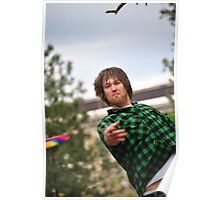 Disc Golfers Poster