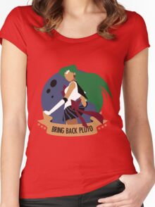 Bring Back Pluto Women's Fitted Scoop T-Shirt