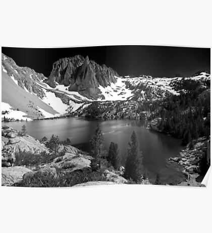Second Lake & Temple Crag Poster