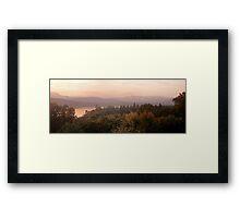 Sunset Fells Framed Print