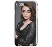 Maisie Williams Grey iPhone Case/Skin