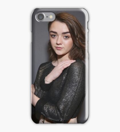 Maisie Williams Grey iPhone Case/Skin
