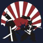 Samurai in the sun by DrewBird