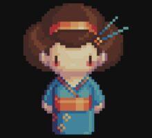blue geisha by iamnotadoll