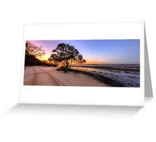 Inskip Point Calm Sunrise Greeting Card