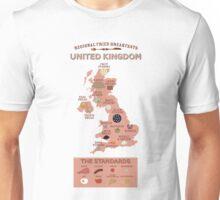 Regional Fried Breakfasts of the United Kingdom Unisex T-Shirt