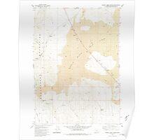 USGS Topo Map Oregon Johnny Creek Spring 280336 1980 24000 Poster