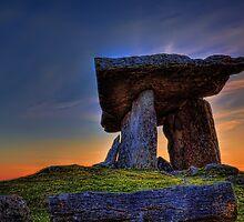 Poulnabrone Dolmen by michellebgphoto