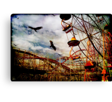 Something Wicked This Way Comes.... Canvas Print