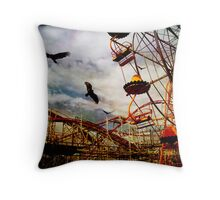 Something Wicked This Way Comes.... Throw Pillow