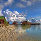 Meerufenfushi island Morning View by michellebgphoto