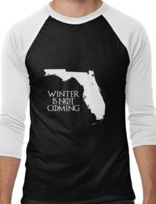 Winter is NOT coming Men's Baseball ¾ T-Shirt