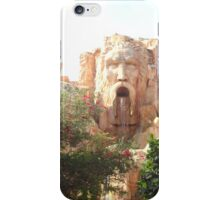 Face in the Rock iPhone Case/Skin