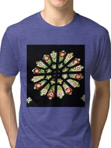 St Barnabas Church Window Norfolk Island Tri-blend T-Shirt