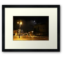 Rome by Night Framed Print