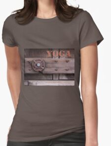 Rustic Yoga Womens Fitted T-Shirt