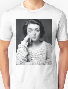 Maisie Williams Black & White Unisex T-Shirt