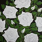 White Roses by Adam Regester