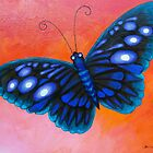 Blue Butterfly by Brita Lee