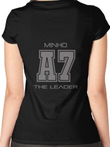 Subject A7 - The Leader Women's Fitted Scoop T-Shirt