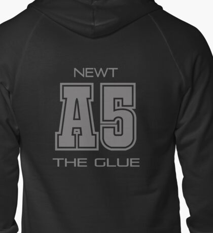 Subject A5 - The Glue Zipped Hoodie