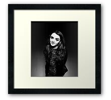 Maisie Williams Actor Framed Print