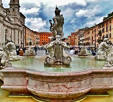 "Rome's ""Piazza Navona"" by Ali Brown"
