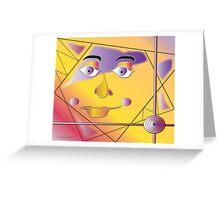 Native Sun Greeting Card