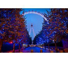 The London Eye - Dawn Light. Photographic Print