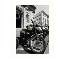 Mopeds and Motorbikes - Italy Art Print