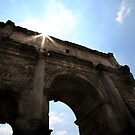 Arch of Septimus Severus by Samantha Higgs