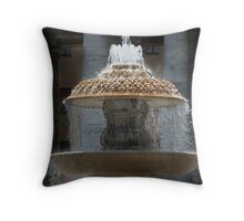 Fountain - St Peter's Square Throw Pillow