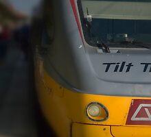 Queensland Tilt Train Stopped © Vicki Ferrari Photography by Vicki Ferrari