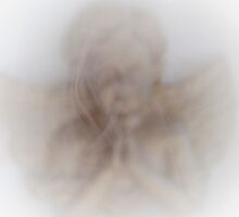Angel Praying in the Golden Mist © Vicki Ferrari Photography by Vicki Ferrari