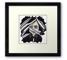 Edward Scissorhands no back Framed Print
