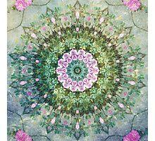 Boho Underwater Fantasy Kaleidoscope Photographic Print