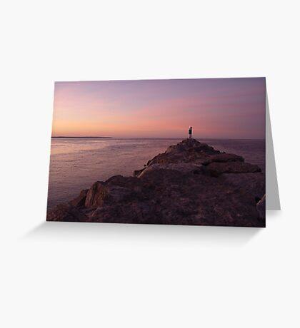 Sanguine Sunrise Greeting Card