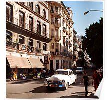 Taxi! Havana Cuba  Poster