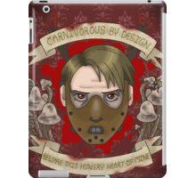 Hannibal-- Carnivore iPad Case/Skin