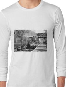 73129 draws into Butterly Station Long Sleeve T-Shirt