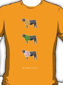 Les Vaches du Tour - dark T-Shirt