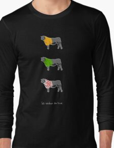 Les Vaches du Tour - dark Long Sleeve T-Shirt