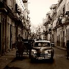 Old streets of Havana by Stephen Colquitt