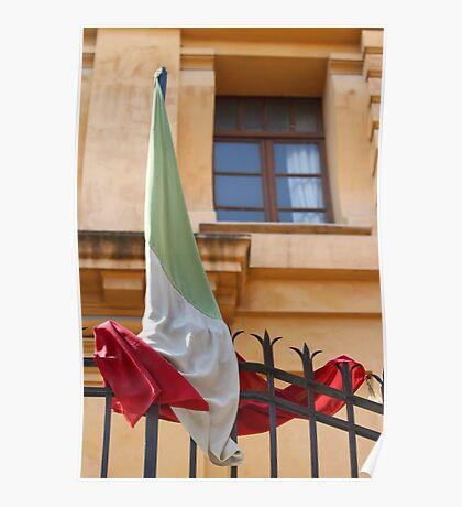 Tangled Flag Poster
