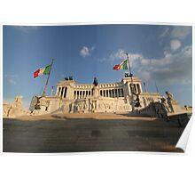 The Monumento Nazionale a Vittorio Emanuele II  Poster
