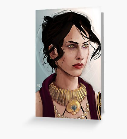 Morrigan Greeting Card