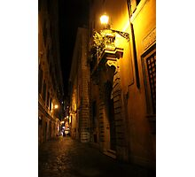 Via di Notte Photographic Print