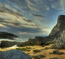 Sand,Sea and Sky in Scotland... by VoluntaryRanger