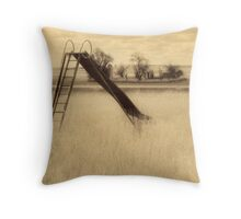 Slide of Yesterday Throw Pillow