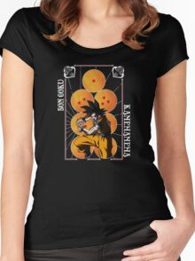 Goku Women's Fitted Scoop T-Shirt